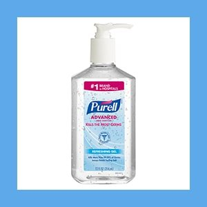 PURELL Instant Hand Sanitizer Gel – 20 fl oz Pump Bottle
