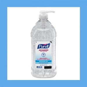PURELL Advanced Refreshing alcohol hand sanitizer Gel 2 Liter Economy Size Pump Bottle