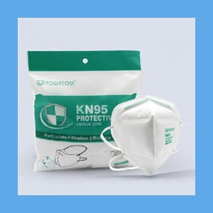KN95 Respirator Medical Mask – Headband Style – Pack of 10 (On the CDC approved list)
