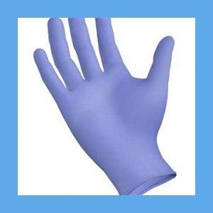 Extra Large, Nitrile Exam Gloves, Powder free, 100 per box