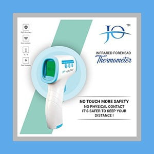 Jo-600 Powerful Infrared Thermometer Gun