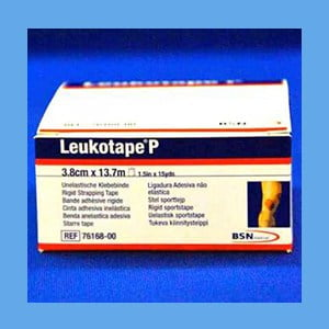 Leukotape P – 3.8cm x 13.7m Rigid Strapping Tape