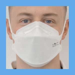 FOLDED N95 MASKS PARTICULATE RESPIRATOR TO PROTECT – Pack of 5