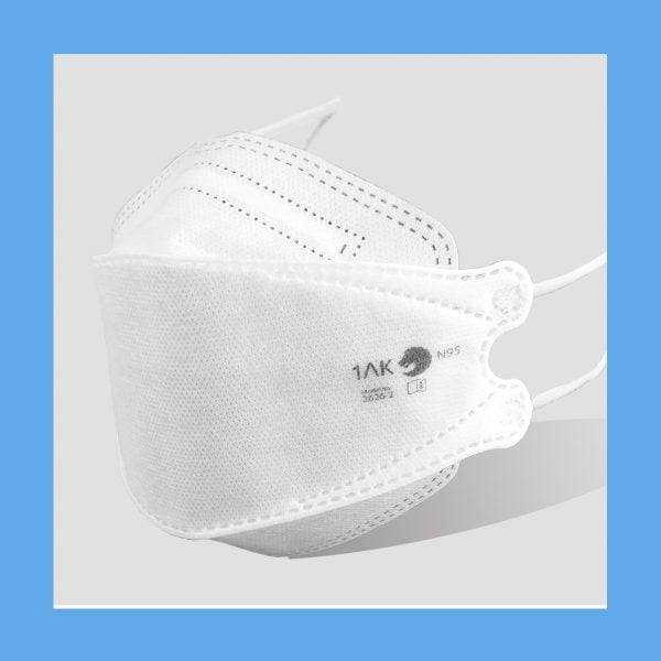 FOLDED N95 MASKS PARTICULATE RESPIRATOR TO PROTECT - Pack of 5