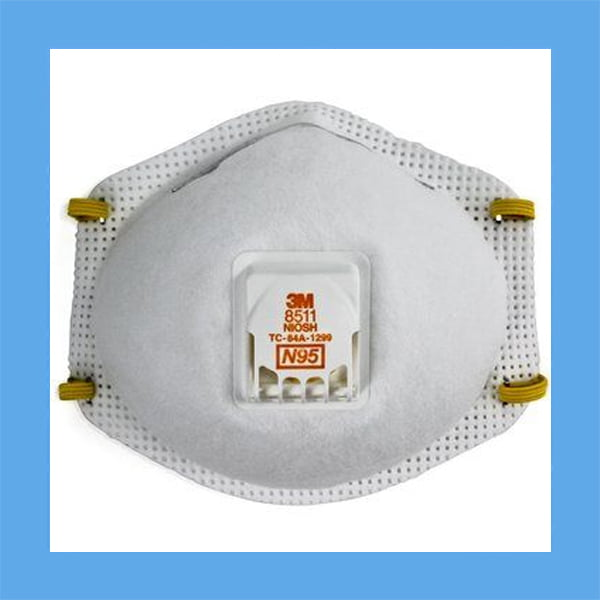 3M Particulate Respirator, 8511, N95 BOX of 10