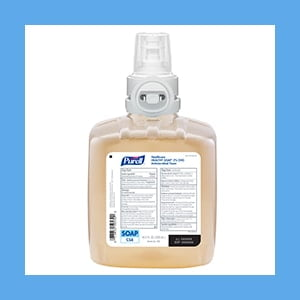 PURELL 2.0% CHG Antimicrobial Foam Soap – Refill for CS8, EACH