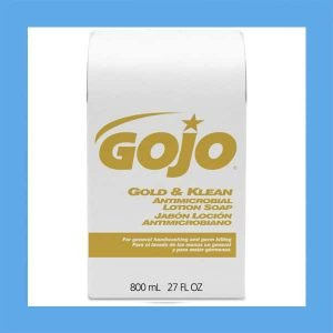 Gojo Gold and Klean Powerful Antimicrobial Hand Soap Lotion Refill, 800ML