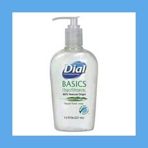Dial Professional Basics Liquid Hand Soap, 7.5 oz, Fresh Floral