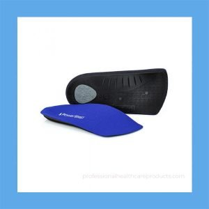 Arch Support Insoles Powerstep SlimTech 3/4 Length Supportive Orthotics