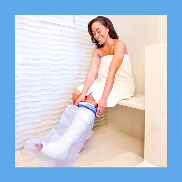 waterproof cast protector shower bandage cover