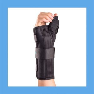 Aircast A2 Wrist Brace with Thumb Spica Comfortable and Strong