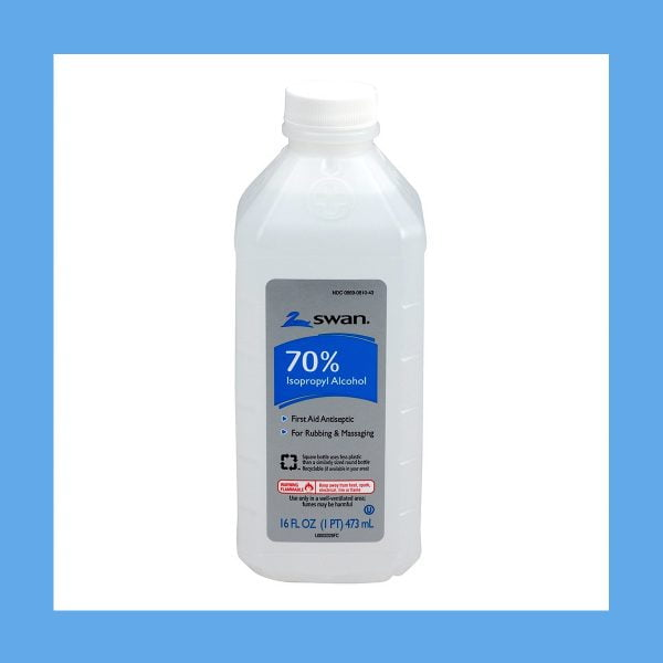 70% Isopropyl Alcohol – Most Effective