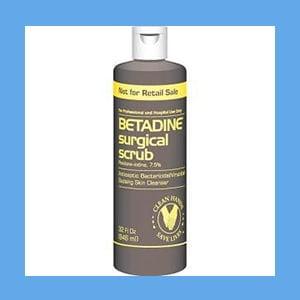 Betadine Scrub Quart 32oz/Bt