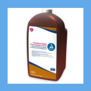 Dynarex Povidone Iodine Solution, Gallon bottle