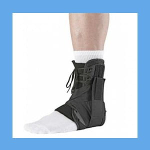 Ossur Form Fit Ankle Brace w/Figure 8 Straps