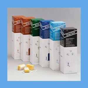 Scrub Brushes with Povidone Iodine Solution