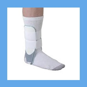 Airform Strong Stirrup Ankle Brace, Adult 1 Brace for Left or Right