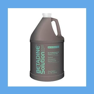 Betadine Solution, 1 Gallon
