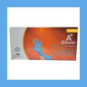A+Glover Powder-free Nitrile Medi's Exam Gloves 100 Per Box