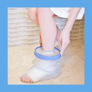 Seal Tight Cast and Bandage Protector, Foot/Ankle 12″