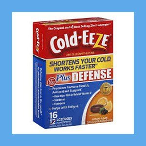 #1 Zinc Lozenge Cold-EEZE Natural Citrus Elderberry Flavor