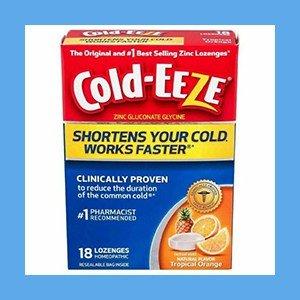 Zinc Lozenges Flavored Cold-EEZE # 1 Best Selling – Orange