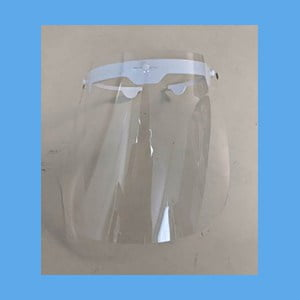 Face Shield Replacements for Equus Glasses Compatible Protect Face Shield (Package of 10)