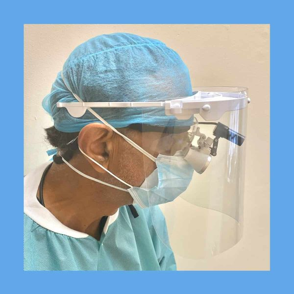 Equus Best Glasses Compatible Face Shield