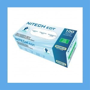 Ronco Nitech 5mil Synthetic Medical Exam Glove – 100 Per Box