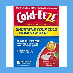 Zinc Lozenges Flavored Cold-EEZE # 1 Best Selling – Natural Cherry