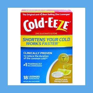 Zinc Lozenges Flavored Cold-EEZE # 1 Best Selling – Natural Honey Lemon