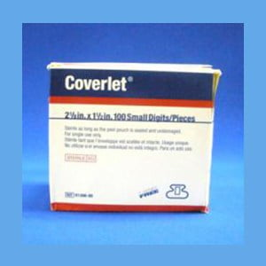 Best #1 Adhesive Coverlet Bandages – Coverlet Adhesive Bandages, Small Digits 2 1/8″ x 1 1/2″