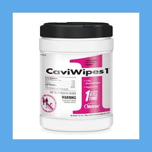 Caviwipes1 Germicidal Wipes – 160 wipes/canister